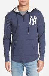 Mitchell Ness 'New York Yankees Playoff Spot' Hoodie Dark Navy