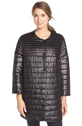 Rebecca Minkoff ' Crystal' Quilted Puffer Coat Black