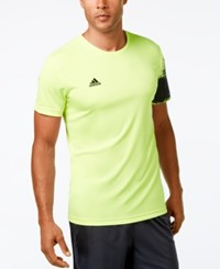 Adidas Men's Climalite T Shirt Neon Yellow
