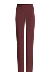 Theory Silk Pants Red