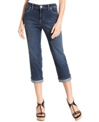 Styleandco. Style And Co. Tummy Control Capri Jeans Only At Macy's Oxford