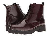 Gabor 51.800 Bordo Boxcalf Women's Lace Up Boots Brown
