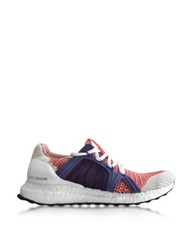 Adidas Stella Mccartney Bright Red And Plum Ultra Boost Women's Sneaker