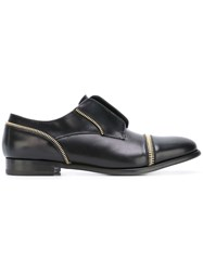 Fratelli Rossetti Zip Detailed Loafers Black