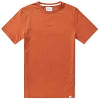 Norse Projects James Dry Cotton Tee Orange