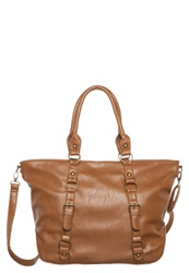 Evenandodd Tote Bag Cognac Brown