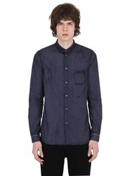 N 21 Washed Cotton Poplin Shirt