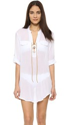 Eberjey Summer Of Love Riley Tunic White