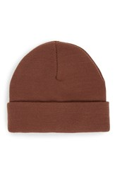 Topman Men's Knit Cap Red