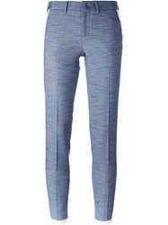 Pt01 Tweed Trousers Blue