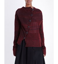 Anglomania Art Knitted Cardigan Red