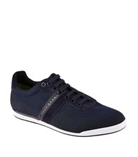 Hugo Boss Green Arkansas Trainers Male Navy