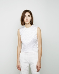 Simone Rocha Brocade Shell White