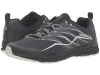 Merrell Trail Crusher Granite Black Men's Lace Up Casual Shoes Gray