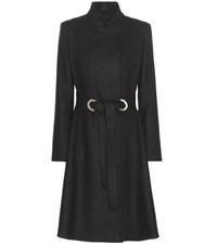 Proenza Schouler Wool And Cashmere Blend Coat Black