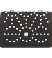 Dsquared2 Acc Star Studded Leather Card Holder Nero