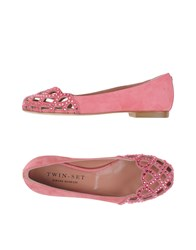 Twin Set Simona Barbieri Footwear Ballet Flats Women Pink