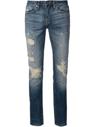 J Brand 'Tyler' Distressed Jeans Blue