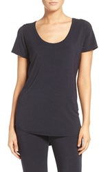 Paper Label Women's Scoop Neck Tee Total Eclipse