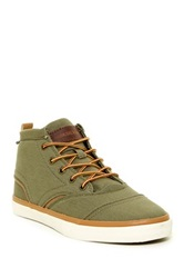 Quiksilver Heyden Canvas Mid Top Sneaker Green