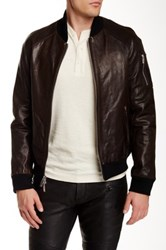 Rogue Genuine Leather Jacket Brown