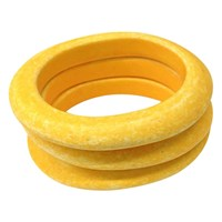 Tuleste Italian Resin Bangles Yellow