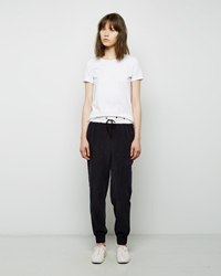 Band Of Outsiders Silk Sweatpant Black