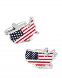 Cufflinks Inc. American Stars And Stripes Cuff Links