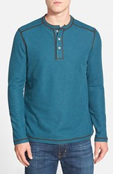 Men's Tommy Bahama 'Grand Thermal' Long Sleeve Henley Frida Heather