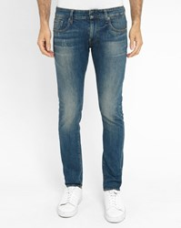 G Star Faded Blue Revend Super Slim Fit Jeans