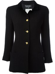 Chanel Vintage Fitted Jacket Black