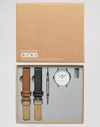 Asos Interchangeable Watch With Tools Multi