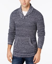 American Rag Men's Shawl Collar Sweater Only At Macy's Basic Navy