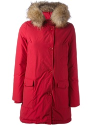 Woolrich 'Arctic' Padded Parka Red
