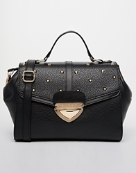 Lipsy Studded Cross Body Bag Black
