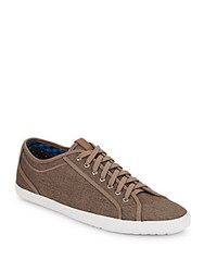 Ben Sherman Connall Canvas Sneakers Taupe