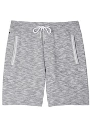 Boss Grey Melange Cotton Shorts