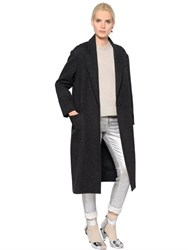 Etoile Isabel Marant Oversized One Button Wool Cloth Coat