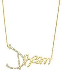 Sis By Simone I Smith Crystal Dream Pendant Necklace In 18K Gold Over Sterling Silver