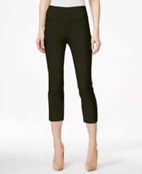 Styleandco. Style Co. Pull On Capri Pants Only At Macy's Evening Olive