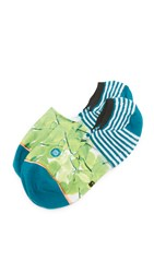 Stance Foliage Super Invisible Socks Green