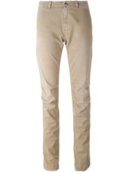 P.A.R.O.S.H. Slim Fit Trousers Nude And Neutrals