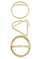 Cheap Monday 3 Pack Ring Goldcoloured