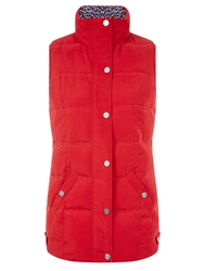 Dash Quilted Red Gilet