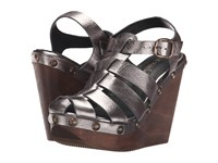 Cordani Duran Pewter Women's Wedge Shoes