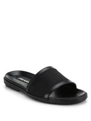 Prada Nylon Slide Sandals Black