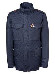 Pretty Green Jetson Jacket Navy