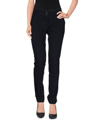 Divina Trousers Casual Trousers Women Dark Blue