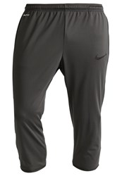 Nike Performance Strike 3 4 Sports Trousers Anthracite Black