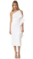 C Meo Collective Two Can Win Dress Ivory